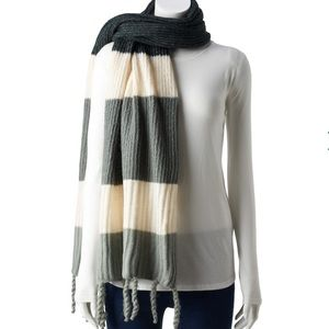 Neutral Color Combo Scarf